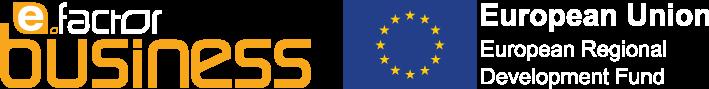 E-Factor Business Logo Full with EU addon