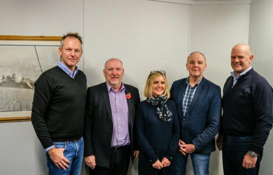 Arcteq Team Photo following successful grant application