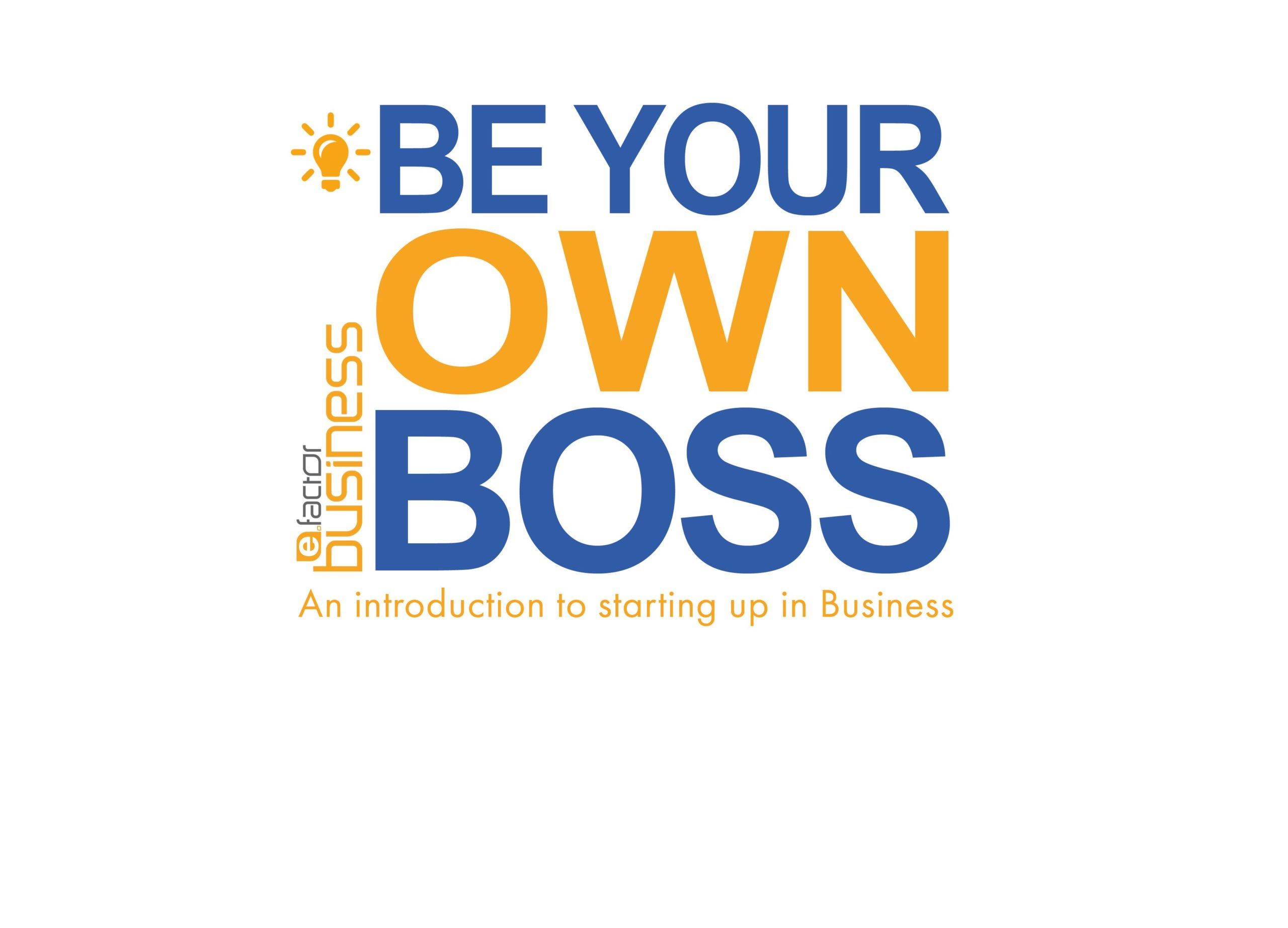 Be Your Own Boss Workshop Logo Banner